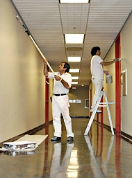 Life Cycle paint ideal for commercial applications
